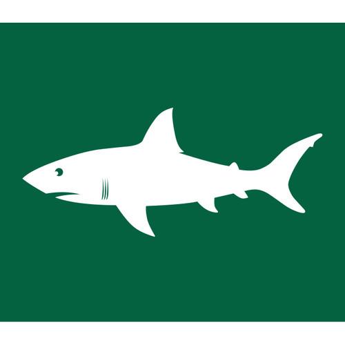 Shark Warning Flag (Green)