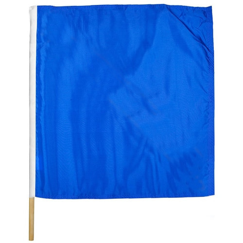 "Move To Outside Motorcycle Racing Flag 30"" x 30"""