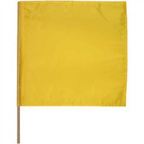 "Caution Motorcycle Racing Flag 30"" x 30"""