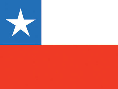 6' x 10' Chile Flag