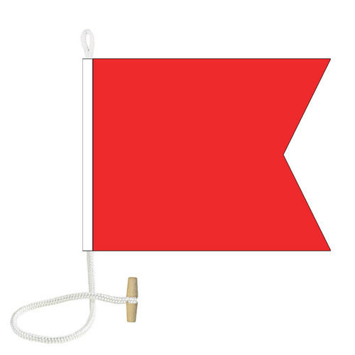 B International Code Signal Flag (Rope and Toggle)