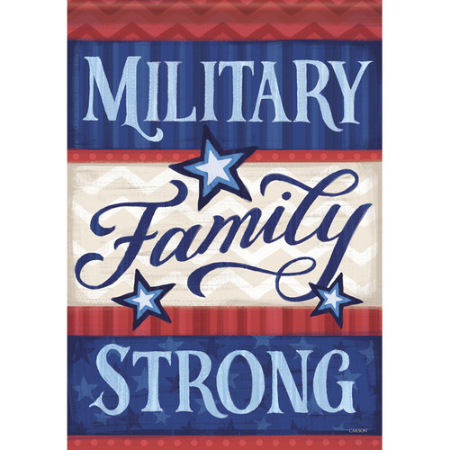 Military Family Dura Soft House Flag