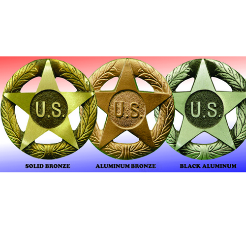 Army Service Grave Markers