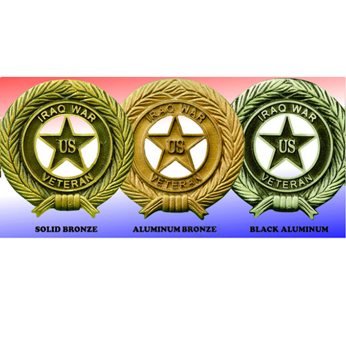 Iraq War Veteran Honor Grave Markers