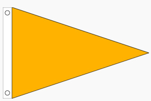 Example of Solid Color Pennant