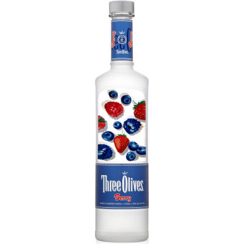 Three Olives Berry Vodka 750ml