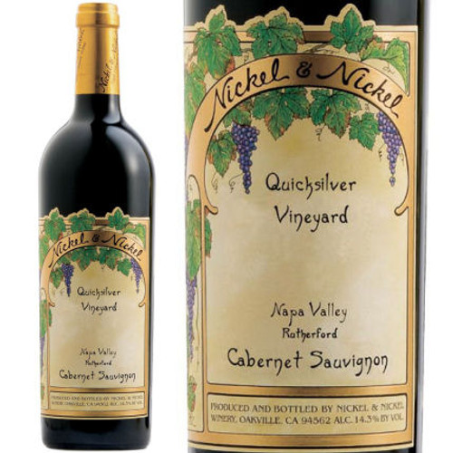 Nickel & Nickel Quicksilver Vineyard Rutherford Cabernet