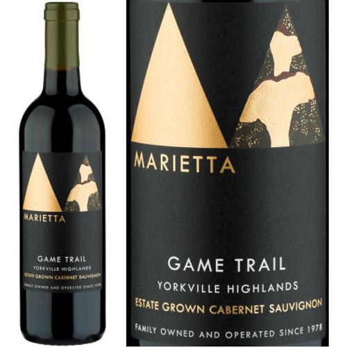 Marietta Cellars Game Trail Yorkville Highlands Cabernet