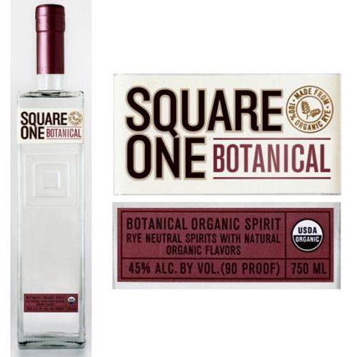 Square One Organic Botanical Spirit 750ml855886001203