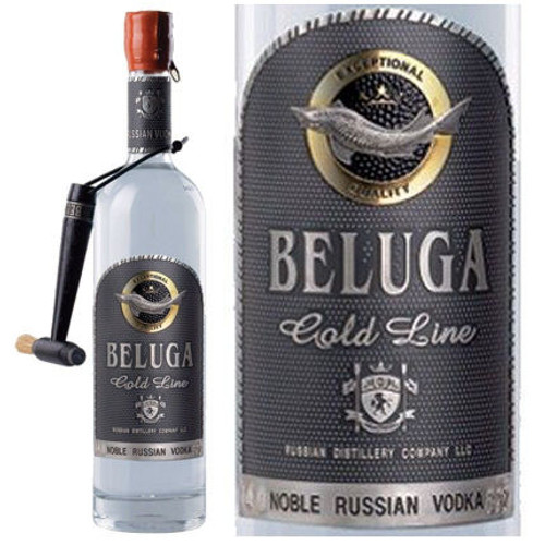 Beluga Gold Line Russian Vodka 750ml