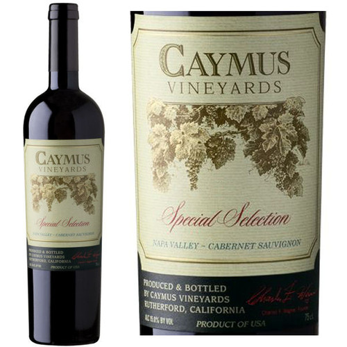 Caymus Vineyards Special Selection Napa Cabernet