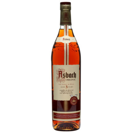Asbach Uralt Original 3 Year Old German Brandy 750ml