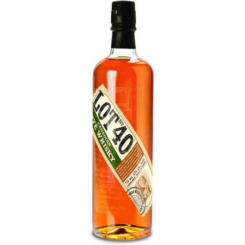 Lot No. 40 Rye Canadian Whisky 750ml