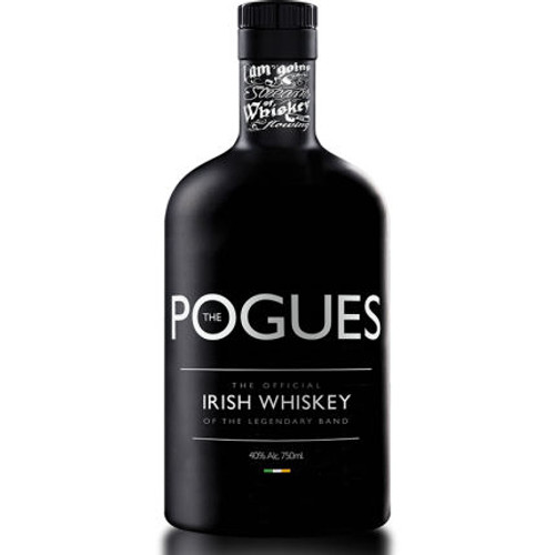 The Pogues Original Irish Whiskey of the Legendary Band 750ml