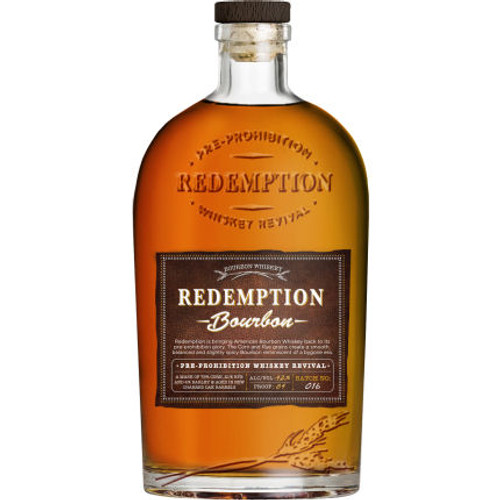 Redemption Straight Bourbon Whiskey 750ml
