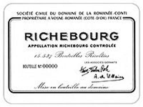 DRC Domaine de la Romanee-Conti Richebourg