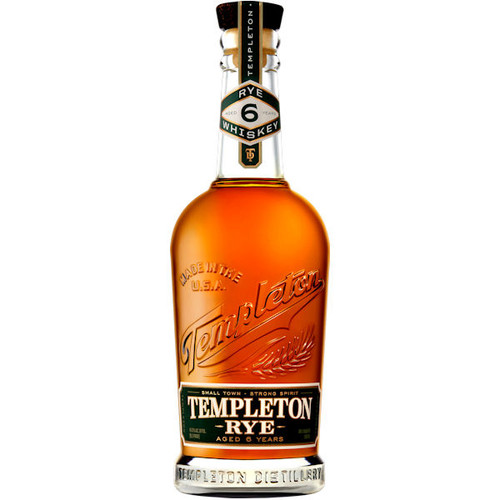 Templeton 6 Year Old The Good Stuff Rye Whiskey 750ml
