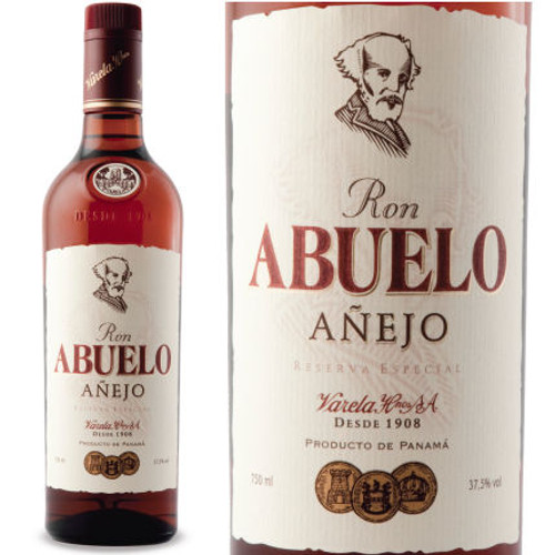 Ron Abuelo Anejo Rum 750ml