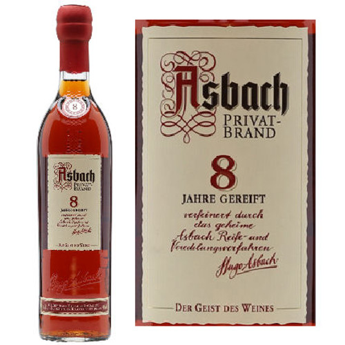 Asbach Privatbrand 8 Year Old German Brandy 750ml