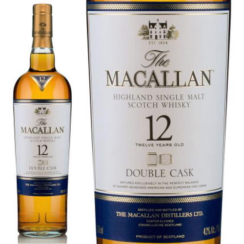 The Macallan 12 Year Old Double Cask Highland Single Malt Scotch 750ml