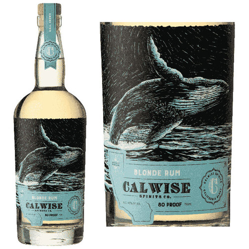 Calwise Blonde California Rum 750ml