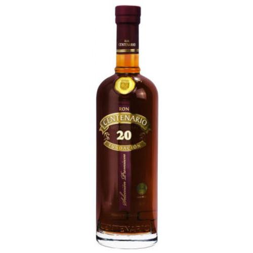 Ron Centenario Fundacion XX Anos Costa Rican Rum 750ml