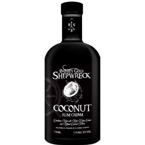 Brinley Gold Shipwreck Coconut Rum Cream 750ml