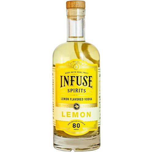 Infuse Spirits Lemon Vodka 750ml
