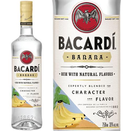 Bacardi Banana Rum 750ml