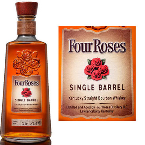 Four Roses Single Barrel Kentucky Straight Bourbon Whiskey 750ml