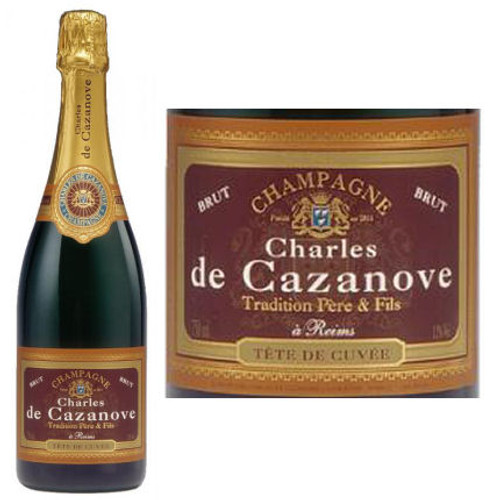 Charles de Cazanove Brut Champagne NV 375ml
