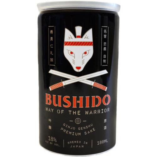 Bushido Way of the Warrior Ginjo Genshu Sake 180ml Can