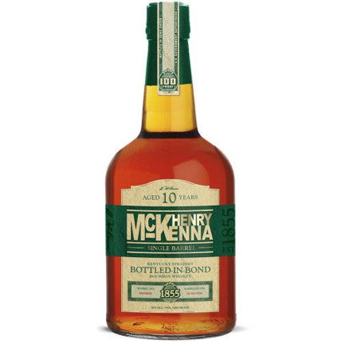Henry McKenna 10 Year Old Single Barrel Kentucky Straight Bourbon Whiskey 750ml