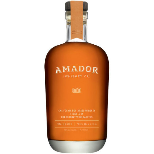 Amador Ten Barrels California Hop-Based Whiskey 750ml