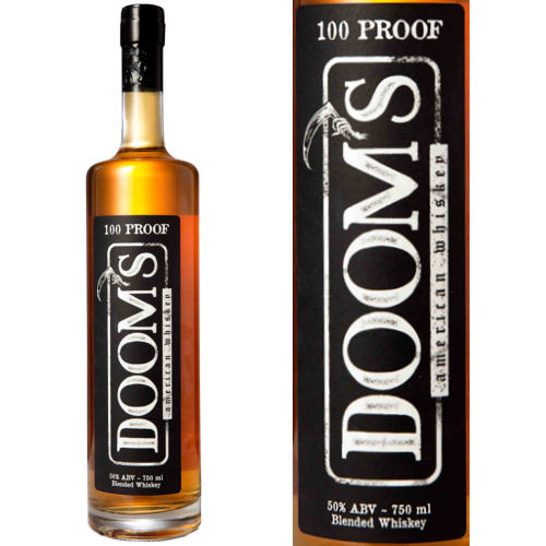 Doom's American Blended Whiskey 750ml