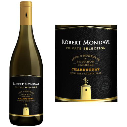 Robert Mondavi Private Selection Monterey Bourbon Barrel-Aged Chardonnay