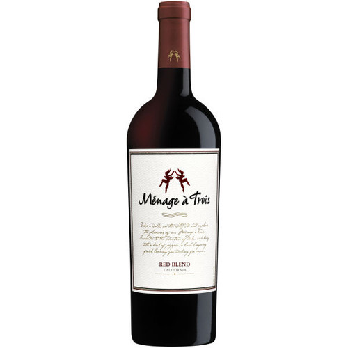 Menage a Trois California Red Blend