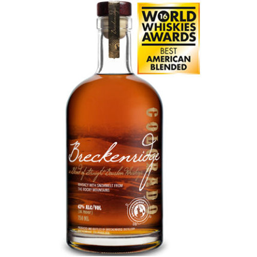 Breckenridge Blend of Straight Bourbon Whiskeys 750ml