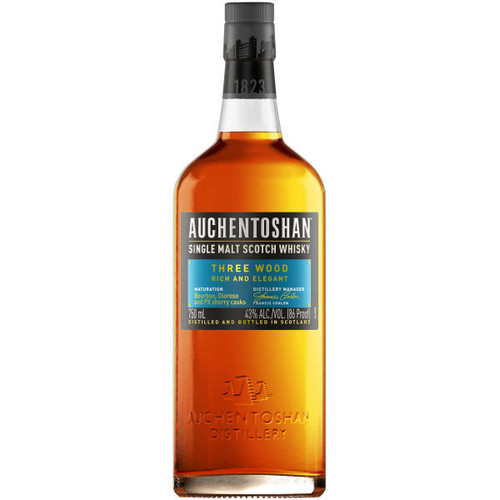 Auchentoshan Three Wood Lowland 750ml