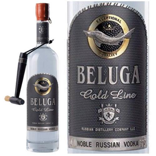 Beluga Gold Line Russian Vodka 750ml