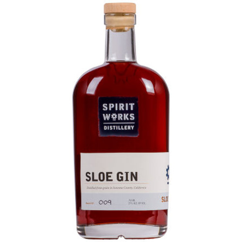 Spirit Works Distillery California Sloe Gin 750ml