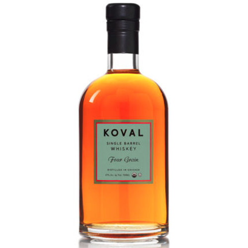 Koval Four Grain Single Barrel Whiskey 750ml