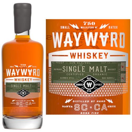 Wayward Single Malt Whiskey 750ml
