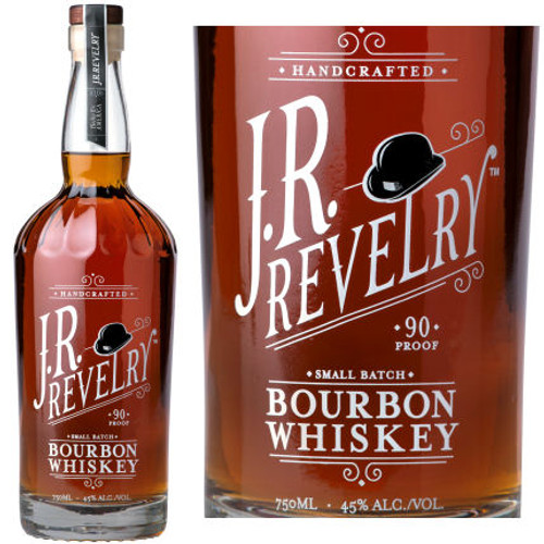 J.R. Revelry Small Batch Bourbon Whiskey 750ml