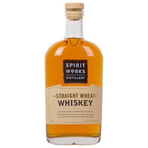 Spirit Works Distillery California Straight Wheat Whiskey 750ml