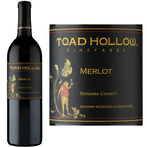 Toad Hollow Richard McDowell's Selection Sonoma Merlot