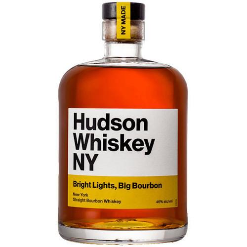 Hudson Whiskey NY Bright Lights Big Bourbon Whiskey 375ml