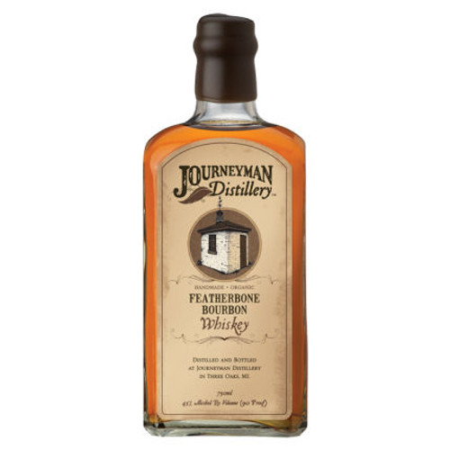 Journeyman Distillery Featherbone Bourbon Organic Whiskey 750ml
