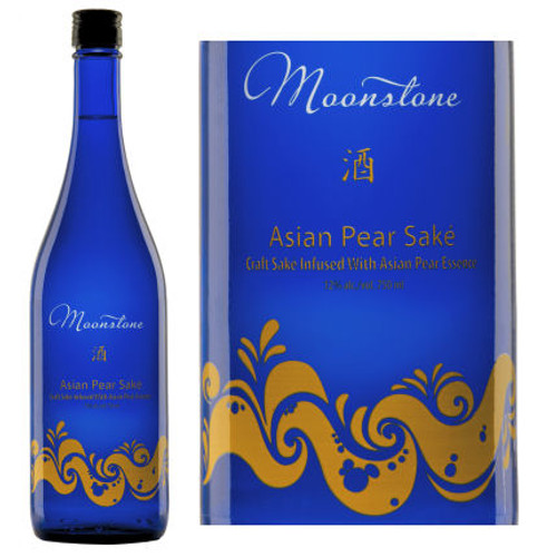 Moonstone Asian Pear Ginjo Sake 750ml