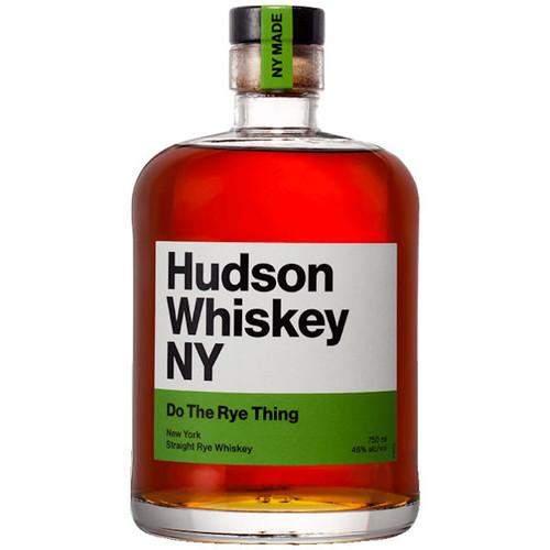 Hudson Whiskey NY Do The Rye Thing Rye Whiskey 750ml